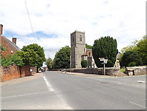 TL9979 : B1111 High Street, Hopton by Adrian Cable