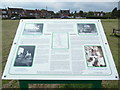 SU9394 : Display Board at Winchmore Hill by David Hillas