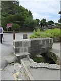 SX5973 : A leat at Princetown by David Smith