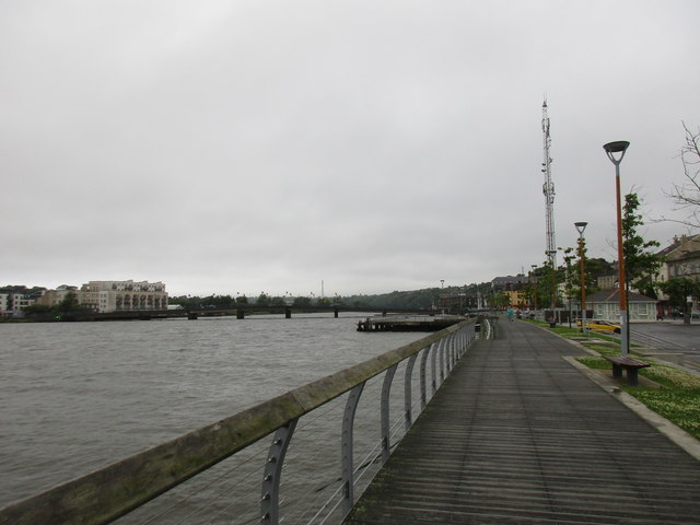 Promenade by the River Barrow, New Ross