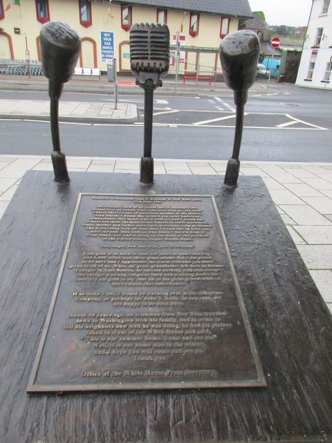 Monument to J,F, Kennedy's address 27th June 1963