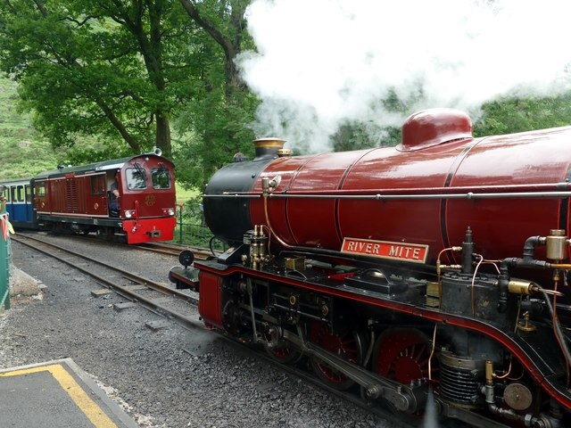 Engines at Dalegarth Station