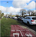 SM9210 : Queueing traffic near the SW edge of Johnston by Jaggery