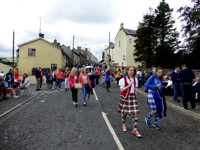 Crowds at Newtownstewart