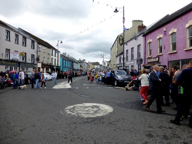 12th July parade at Main Street, Newtownstewart