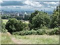 TQ2786 : View from Parliament Hill Fields, Gospel Oak, London by Christine Matthews