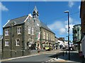 SN1746 : Guild Hall and Market, Cardigan by Robin Drayton