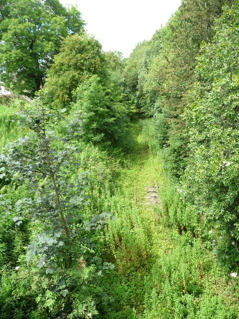 The railway to Penrith, at Cross Croft, Appleby