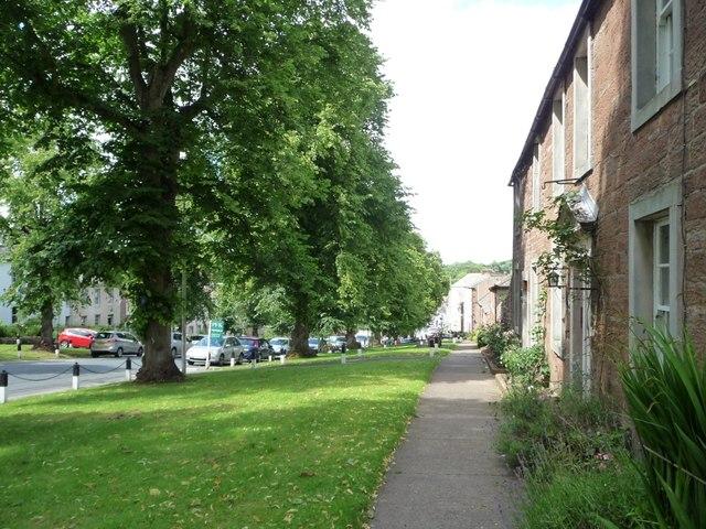 East side of Boroughgate, Appleby