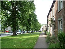 NY6820 : East side of Boroughgate, Appleby by Christine Johnstone