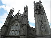 J0407 : The western façade of St Patrick's Church, Dundalk by Eric Jones