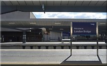 TQ3379 : London Bridge Station by N Chadwick