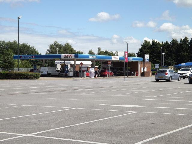 Tesco Fuel Filling Station, Thetford