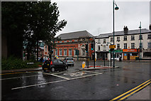 SJ8990 : Junction of Station Road and Wellington Road South by Ian S