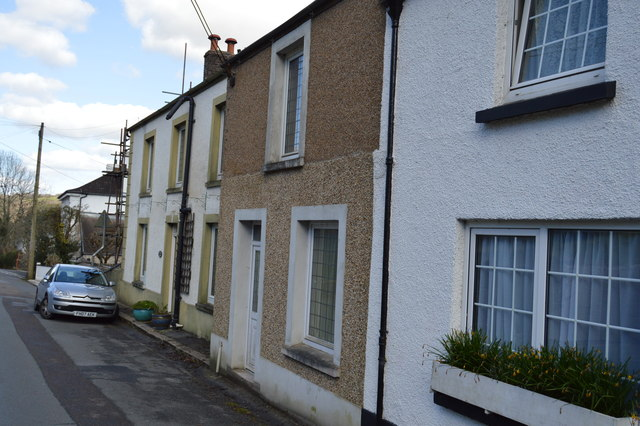 Row of terrace, Calstock Rd