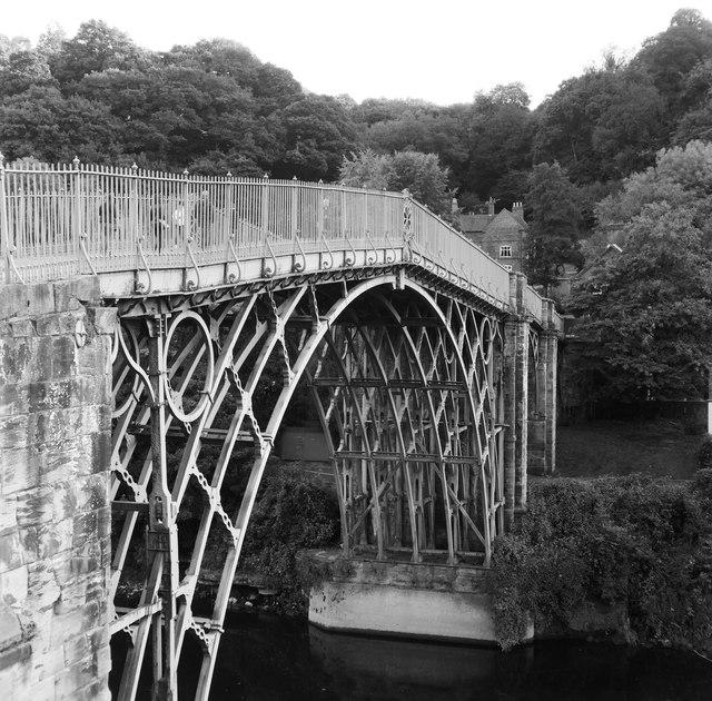 The iron bridge at Ironbridge