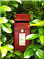 TM0179 : Thelnetham Road Postbox by Adrian Cable