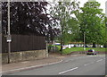SO6303 : Keep the Zigzags Clear notice, Bream Road, Lydney by Jaggery