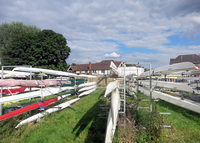 Boat Store at Molesey Rowing Club