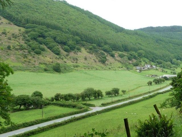 B4405 north-east of Dolgoch