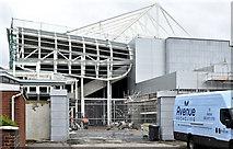 J3272 : New West Stand, Windsor Park, Belfast (July 2016) by Albert Bridge
