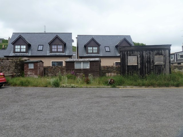 Three sheds