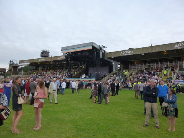 Grandstands and Stage - The July Course, Newmarket