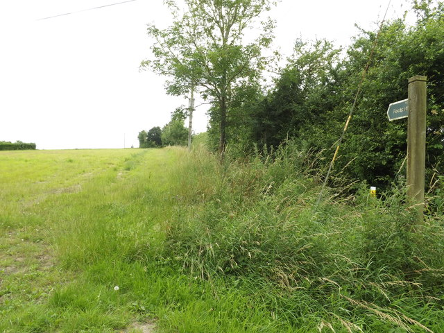 Footpath to Shortgrove Lane