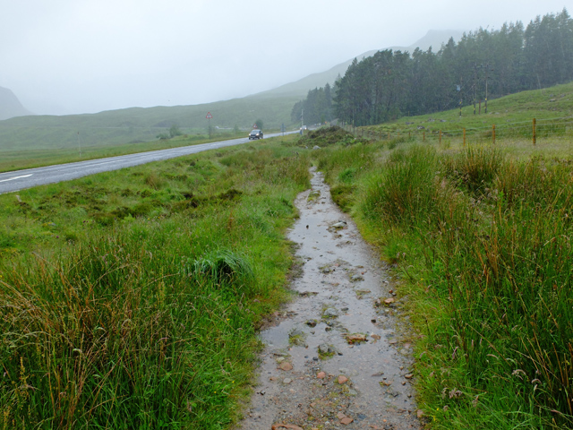 The West Highland Way at Altnafeadh