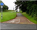 SN1203 : Cycleway and footpath from New Hedges towards Saundersfoot by Jaggery