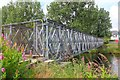 NX4165 : Footbridge closed, Newton Stewart by Jim Barton