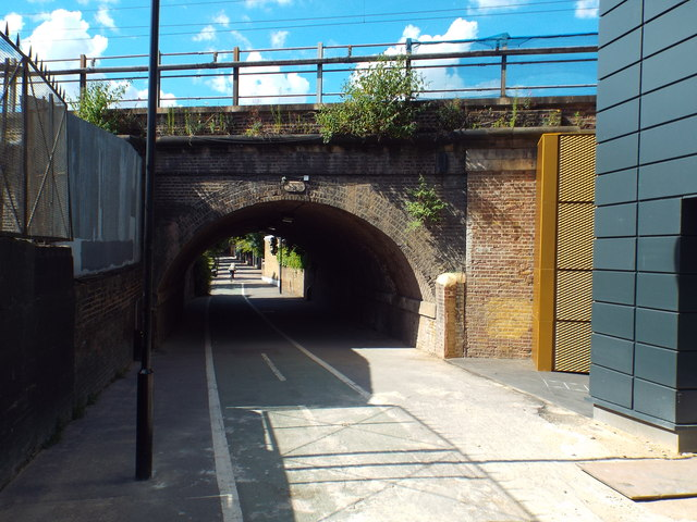 Cycle and pedestrian path, Hackney
