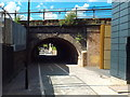 TQ3584 : Cycle and pedestrian path, Hackney by Malc McDonald