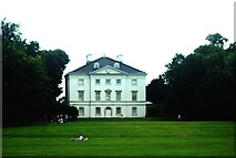 TQ1773 : View of Marble Hill House from the Thames Path by Robert Lamb