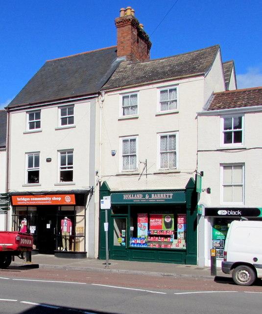 Holland & Barrett, Monnow Street,    © Jaggery :: Geograph