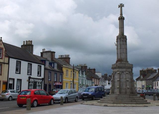 The Mercat Cross, Main Street Wigtown