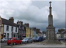 NX4355 : The Mercat Cross, Main Street Wigtown by Jim Barton