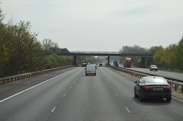 Staines Road Bridge, M3