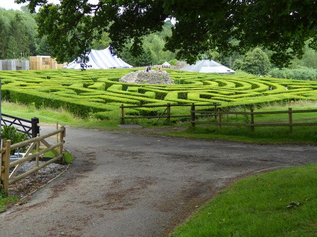 Image result for leeds castle maze
