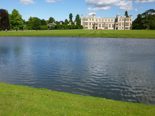 The River Cam at Audley End House