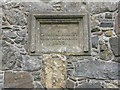 NG0483 : Commemorative stone at St Clement's, Rodel by M J Richardson