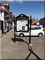 TF2310 : Crowland Town Notice Board on North Street by Adrian Cable
