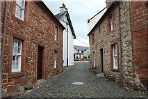 NS4927 : Castle Street, Mauchline by Billy McCrorie