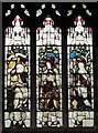 NZ2364 : The Church of St. Matthew, Big Lamp, Summerhill Street, NE4 - stained glass window by Mike Quinn