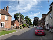 SU7037 : Looking north-east in Winchester Road by Basher Eyre