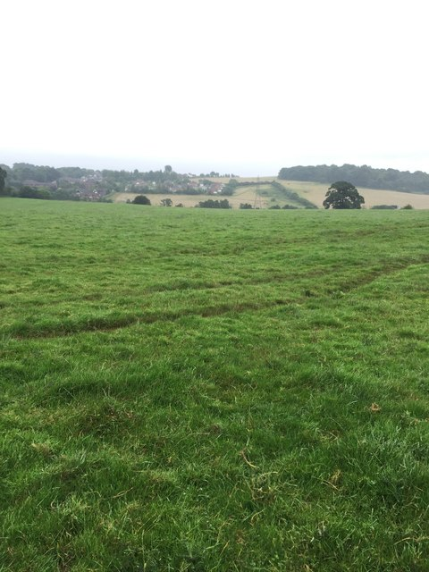 Butterton: footpath to Seabridge