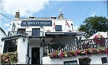 TQ1673 : View of The White Swan pub on Riverside by Robert Lamb