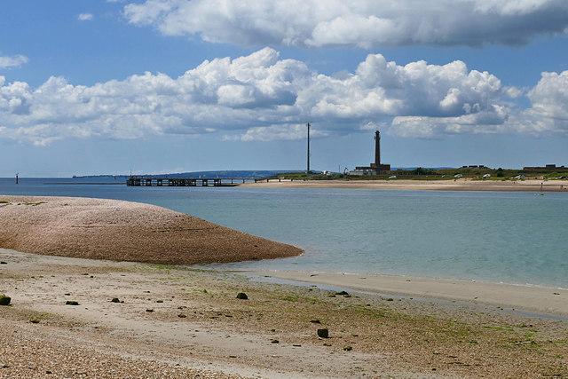 View across Langstone Channel