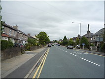 SD8632 : Heading south east on Brunshaw Road by JThomas