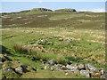 NG3338 : House remains at Dùn Beag by M J Richardson